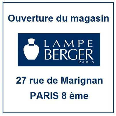 Nouvelle boutique Berger