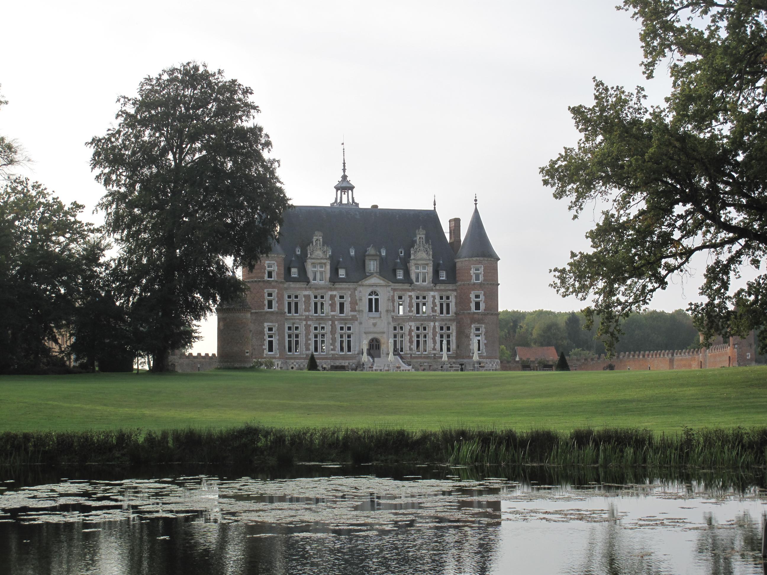 Le château de Tilly telle que nous avons pu le découvrir...