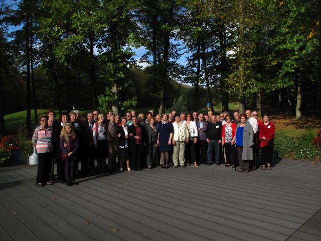 Les participants à l'AG du 26 octobre 2014
